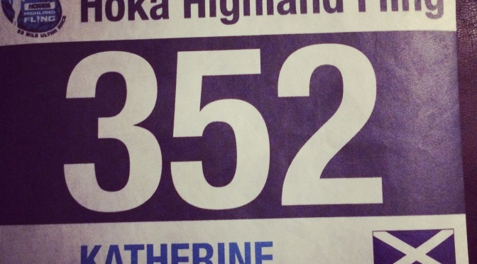 Highland Fling – Done and Dusted